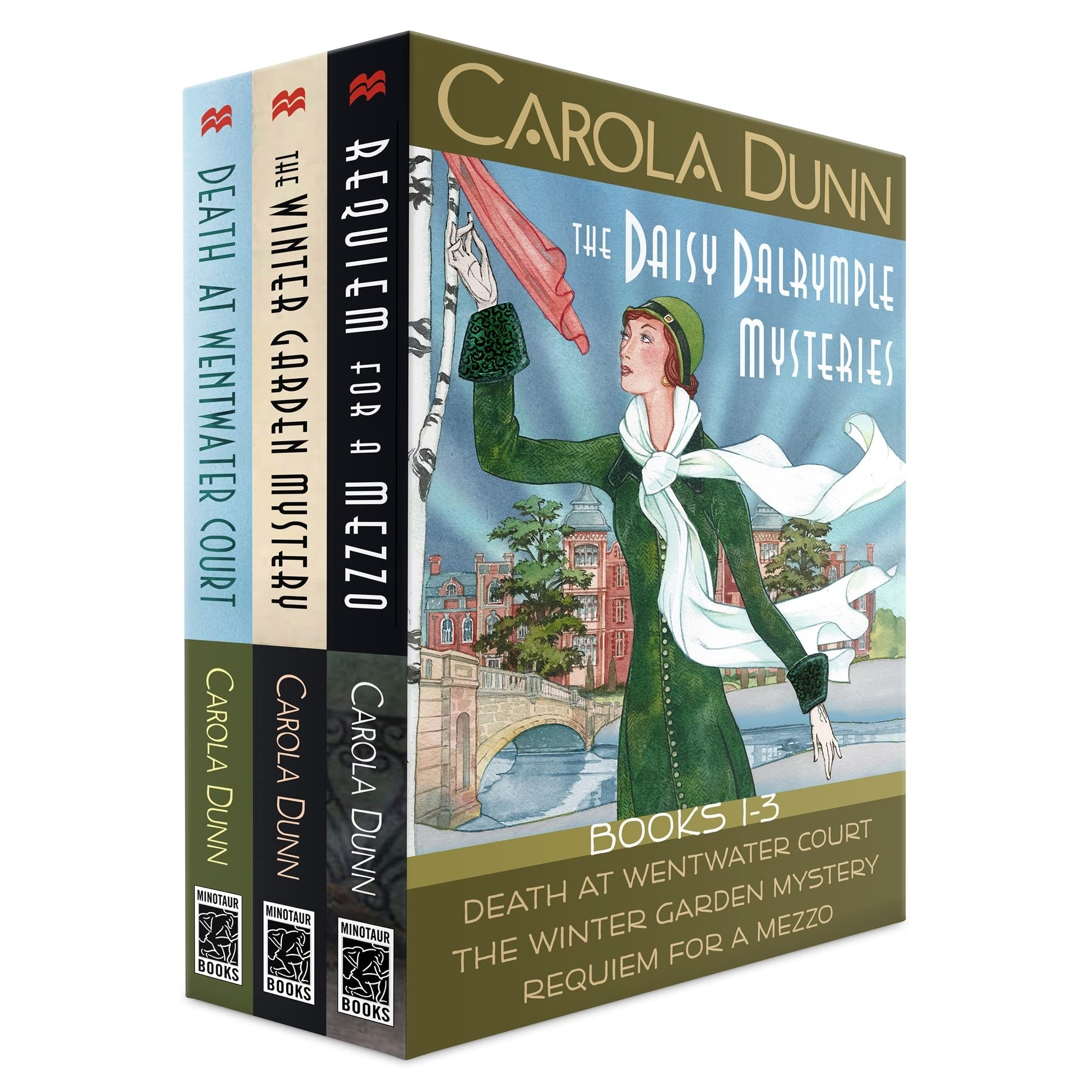 the daisy dalrymple mysteries books 1 3 by carola dunn