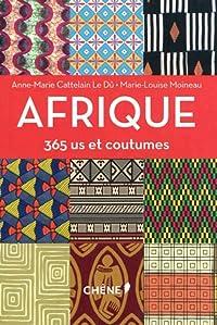 Afrique, 365 us et coutumes