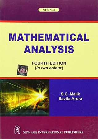 Mathematical Analysis by S C  Malik
