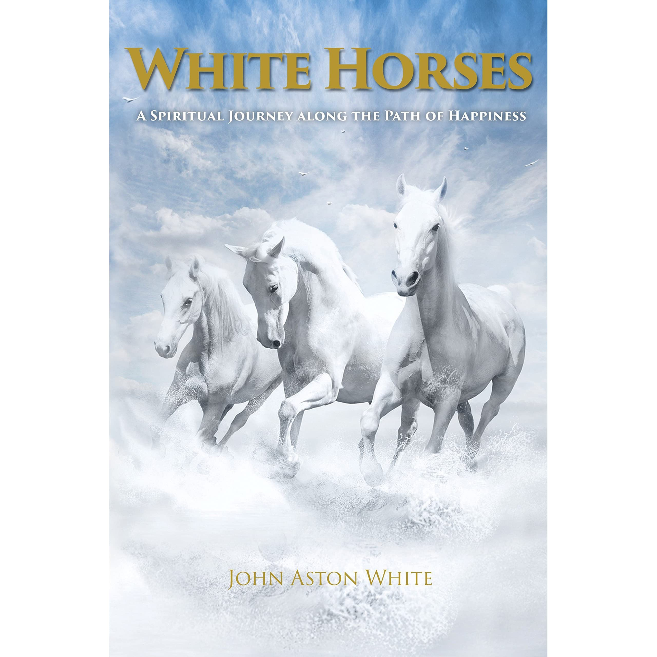 White Horses: A Spiritual Journey along the Path of Happiness by John Aston  White