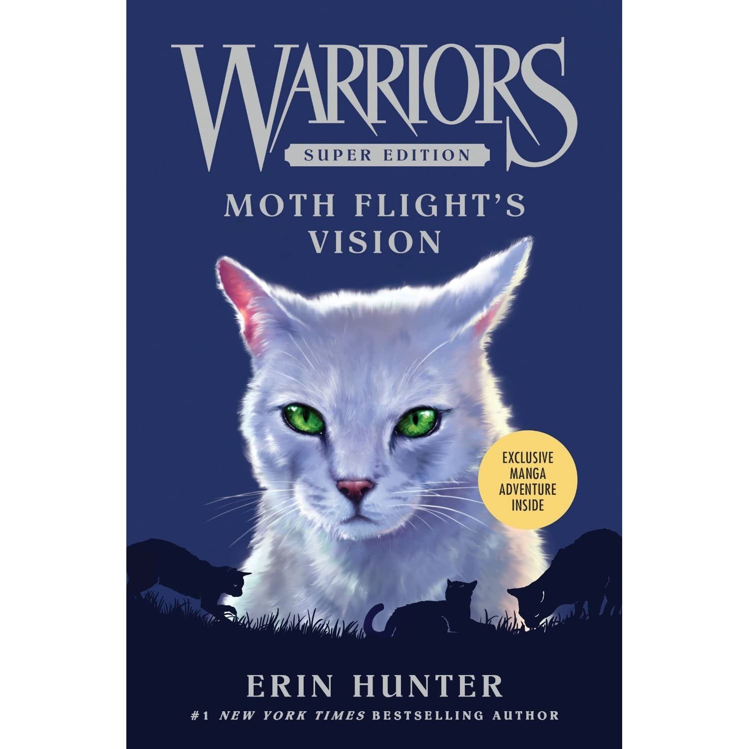 Warriors Erin Hunter Book Review: Moth Flight's Vision (Warriors Super Edition #8) By Erin