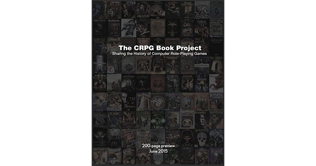 The CRPG Book Project by Felipe Pepe