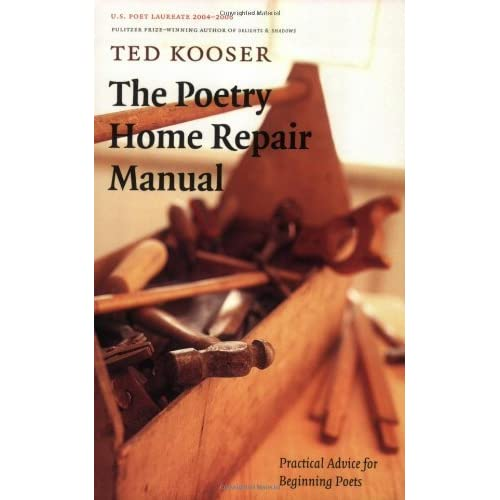 Practical Advice for Beginning Poets The Poetry Home Repair Manual