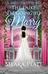 The Duke I'm Going to Marry (Farthingale, #2)