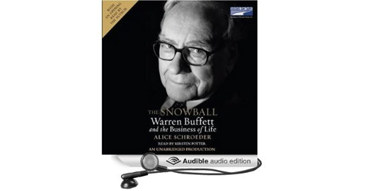 a book critique of the snowball warren buffet and the business of life by alice schroeder Review: the snowball - warren buffett and the business of life by alice schroederas we enter a global recession, the life of warren buffett is more salutary than ever, writes ruth sunderland.