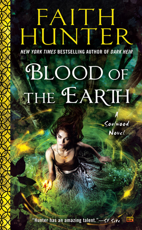 Book Review: Blood of the Earth by Faith Hunter