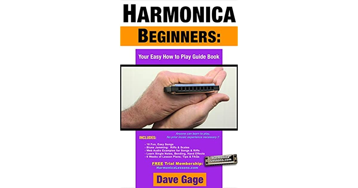 HARMONICA BEGINNERS - YOUR EASY HOW TO PLAY GUIDE BOOK by