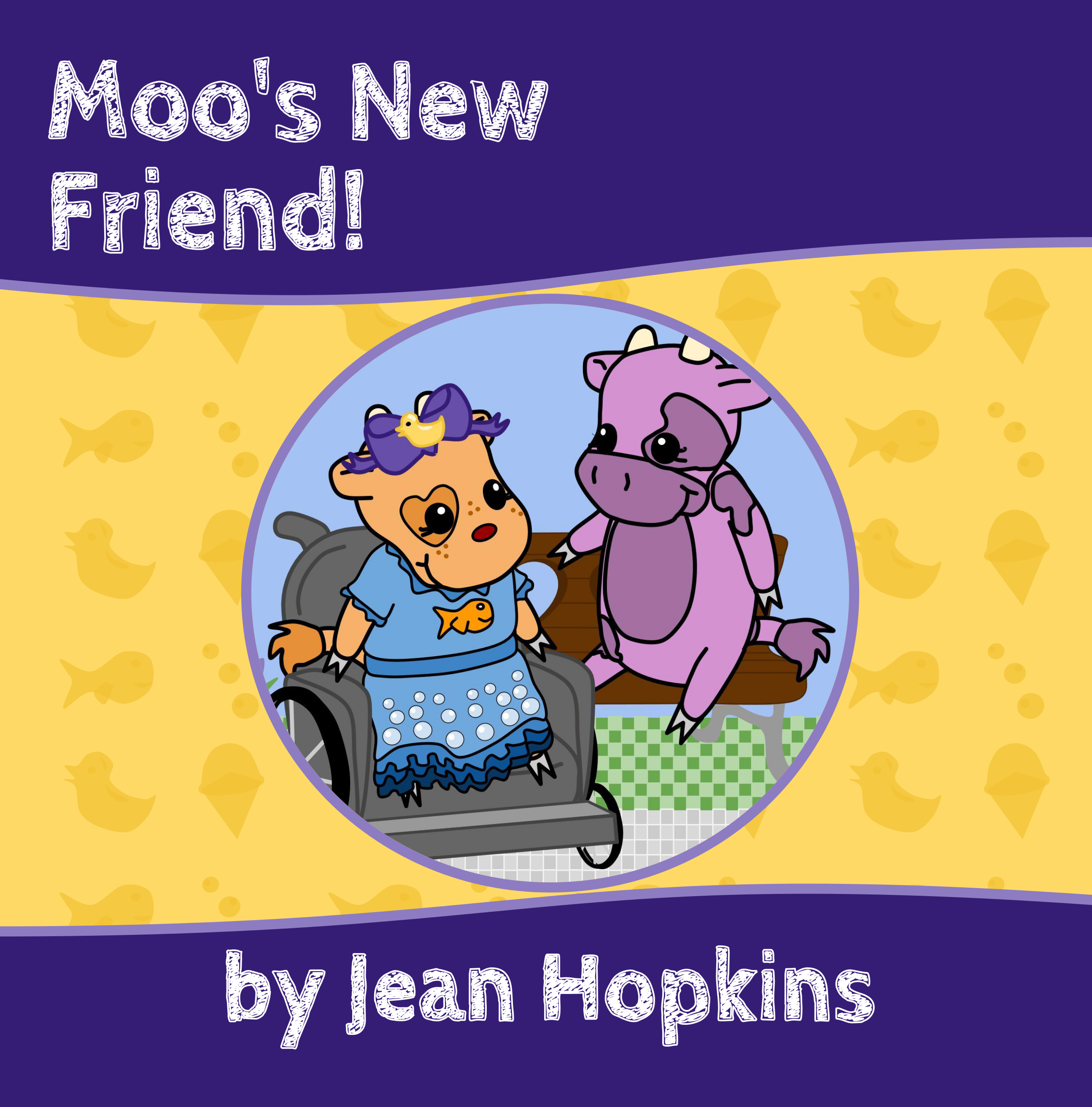 Moos New Friend (Moo Family #4) Jean   Hopkins