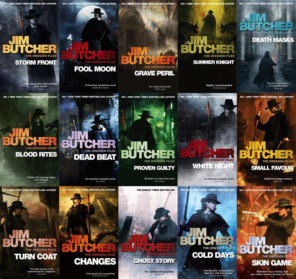 The Dresden Files Series Set