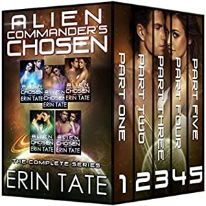 Alien Commander's Chosen (Accidental Alien, #1-5)