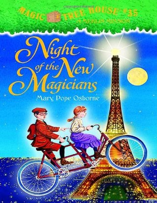 book report on night of the new magicians