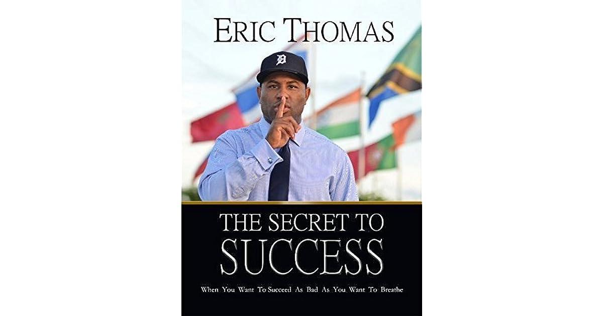 Eric Thomas Secret To Success Epub