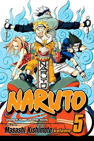 Naruto, Vol  05: The Challengers by Masashi Kishimoto