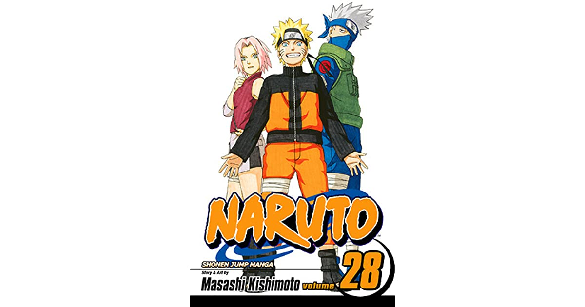 28 manga naruto book volume