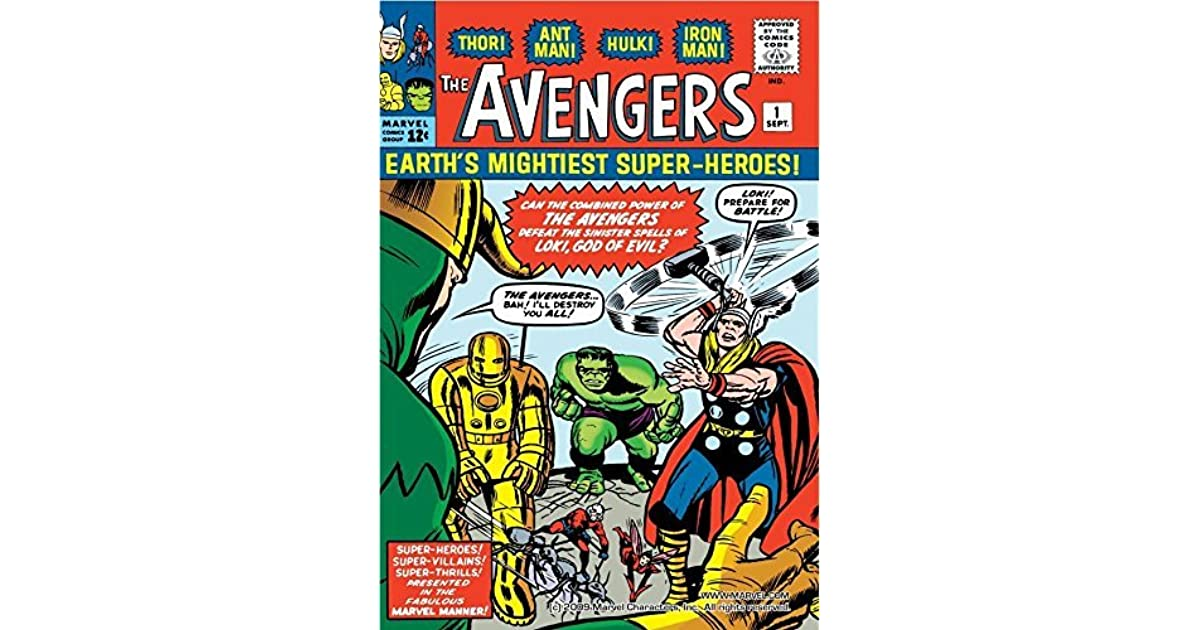 Avengers (1963-1996) #1 by Stan Lee