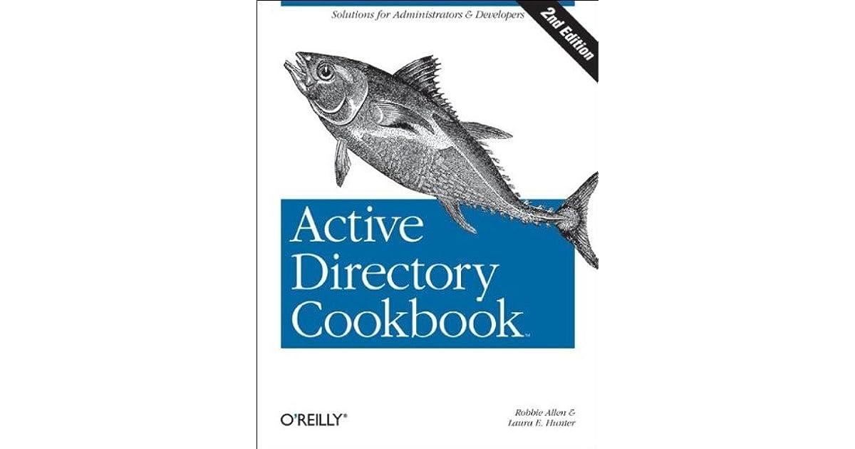 active directory cookbook robbie allen