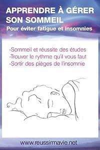 Apprendre à gérer son sommeil
