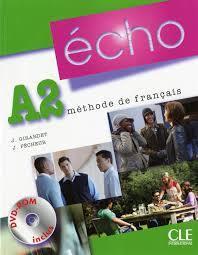 Echo A2 Methode De Francais By Jacky Girardet