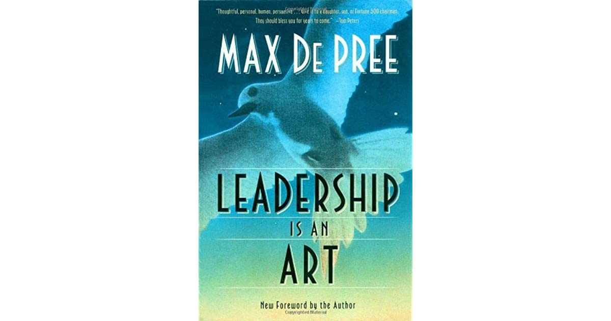 Leadership is an art book report