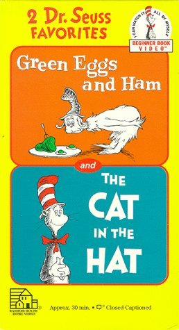 Not A Book Dr Seuss Green Eggs Ham The Cat In The Hat