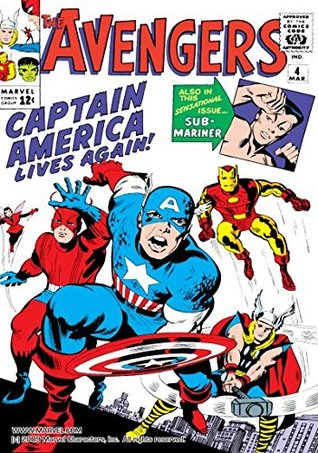 Avengers (1963-1996) #4 by Stan Lee