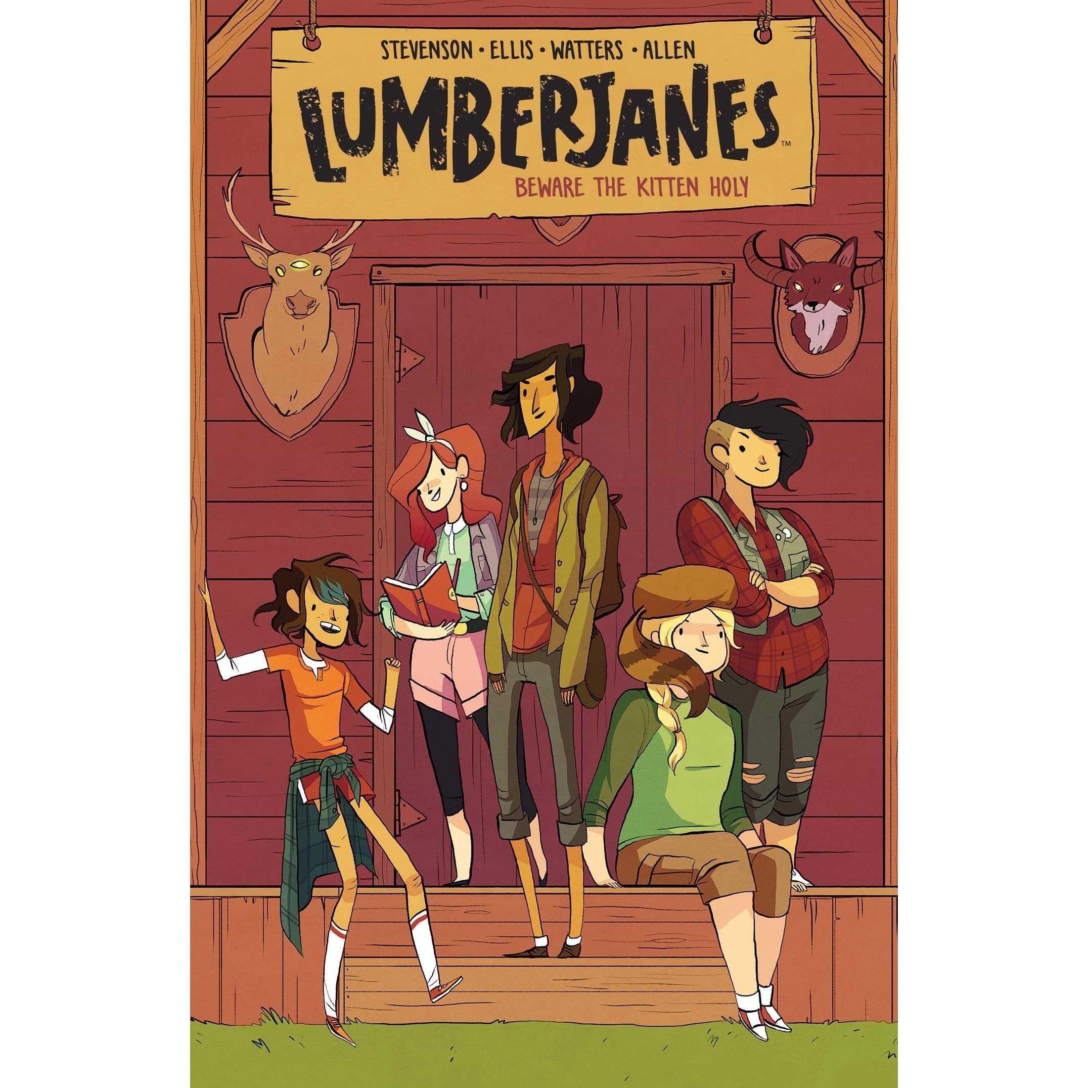 Image result for lumberjanes vol 1