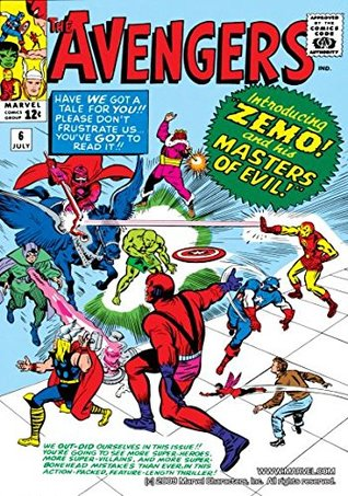 Avengers (1963-1996) #6 by Stan Lee