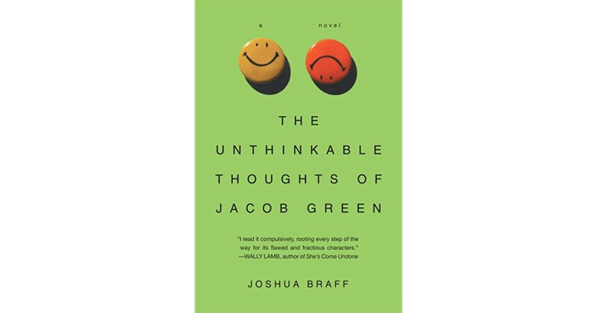 The unthinkable thoughts of jacob green by joshua braff fandeluxe Gallery
