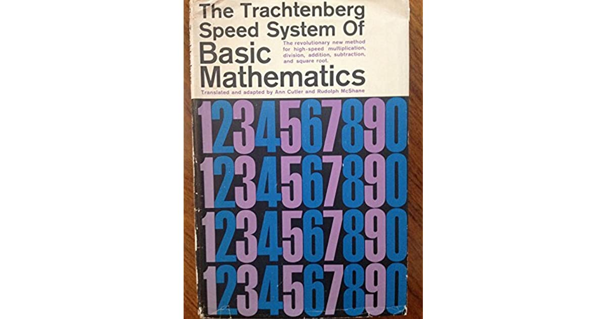 Trachtenberg System Of Speed Mathematics Ebook Download