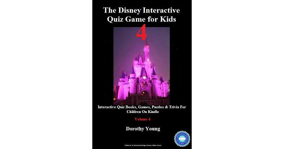 The Disney Interactive Quiz Game for Kids: Volume 4