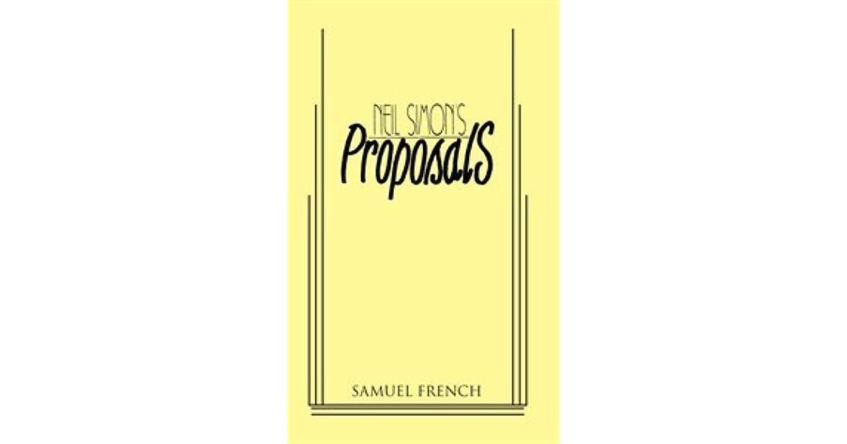 Proposals By Neil Simon