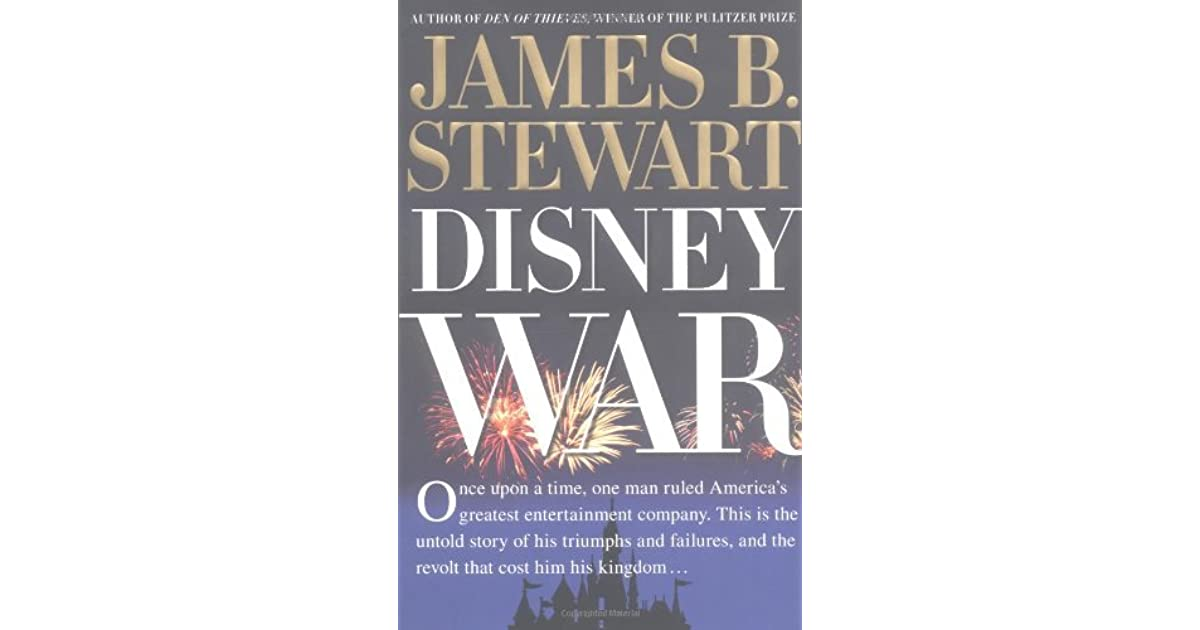 Disneywar By James B Stewart