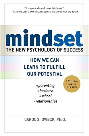 Jacket Cover for Mindset by Carol Dweck