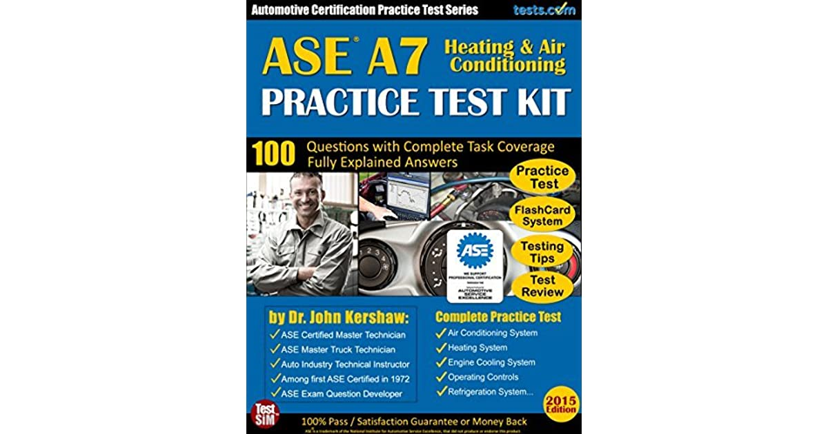 ase test certification automotive a7 practice answers testing