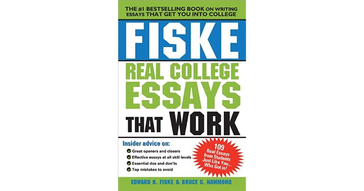 great college essays book Now, forget all that, because learning how to write the college application essay is different sign up login how to write a great college application essay.