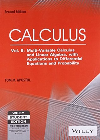 Calculus, Volume 2: Multi-Variable Calculus and Linear