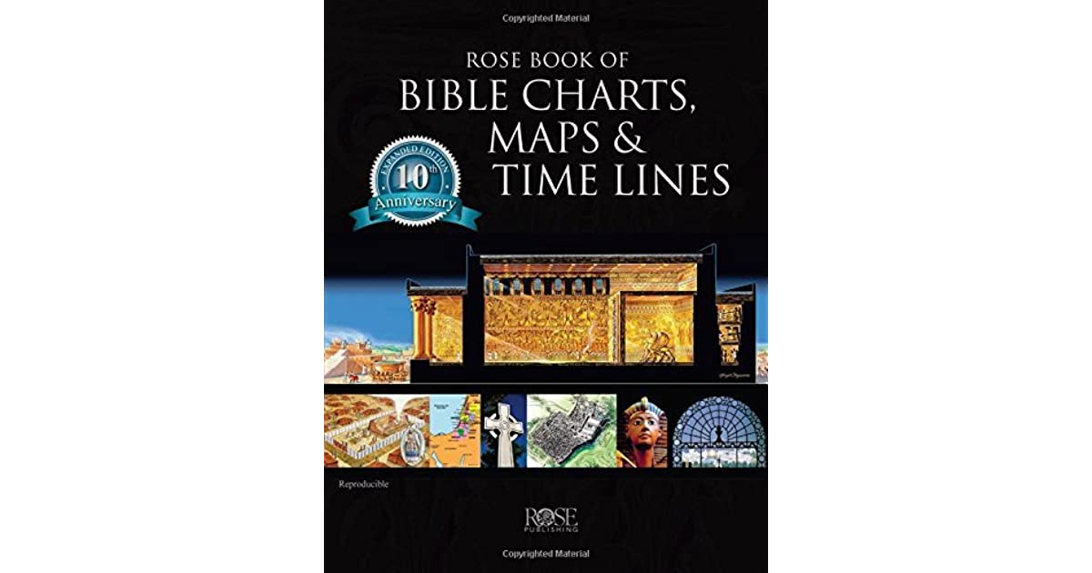 Rose Book Of Charts Maps And Time Lines Full Color Ilrations The Tabernacle Temple High Priest Then Now