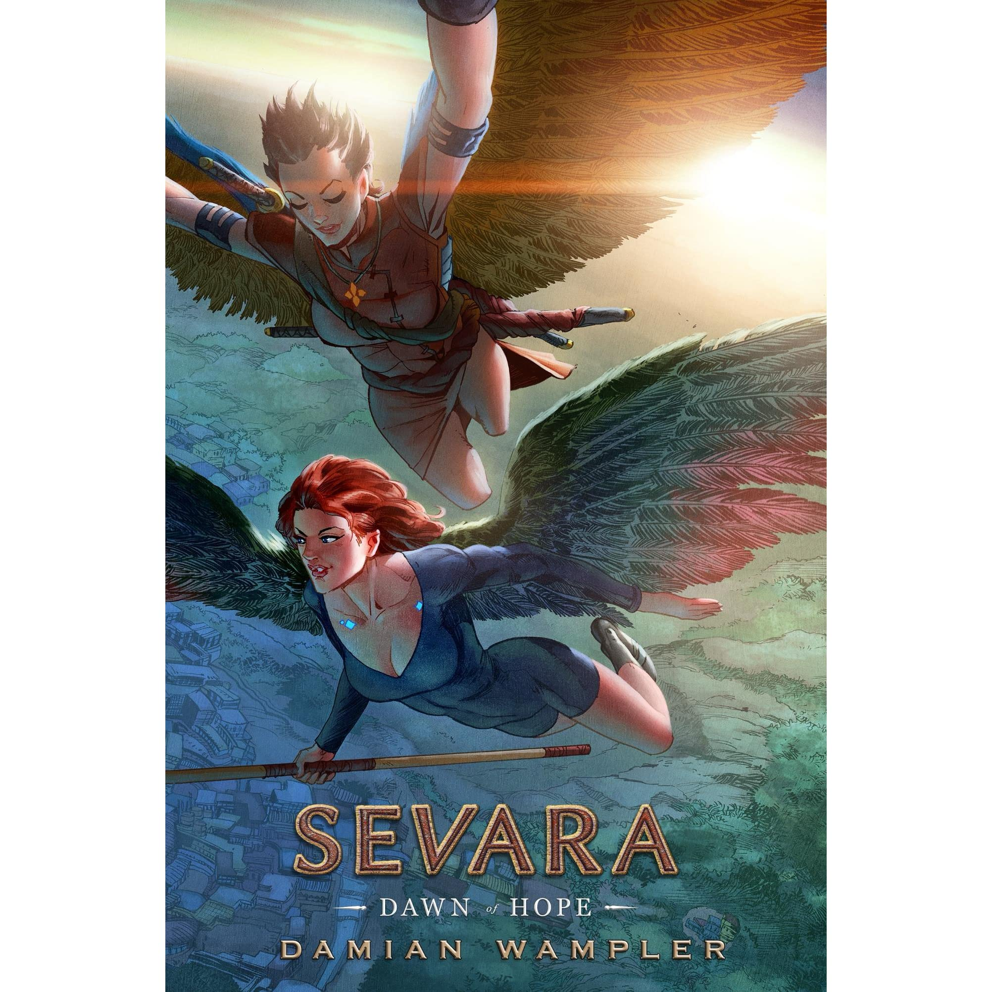 the graphic novels by damian wampler What does a script written for a comic or a graphic novel damian wampler, the creator of a graphic novel called sevara and as a comic/graphic novel.