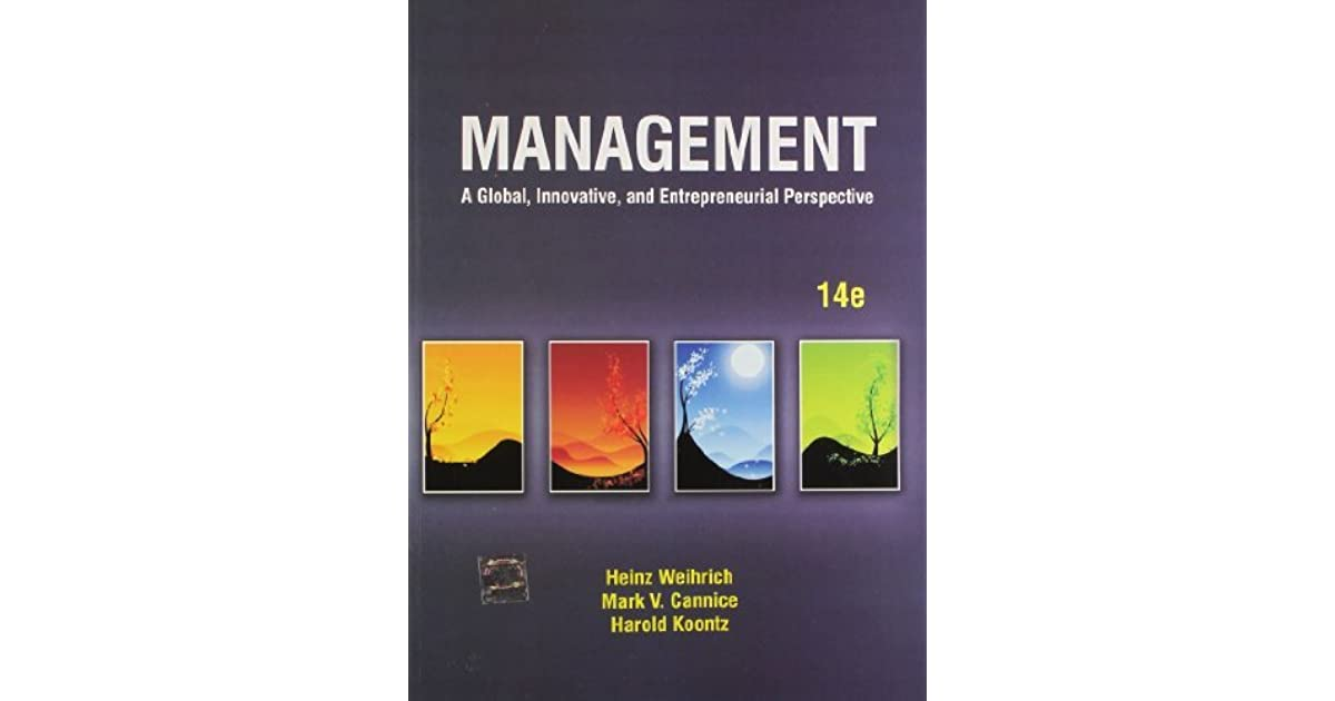 Management: A Global, Innovative and Entrepreneurial