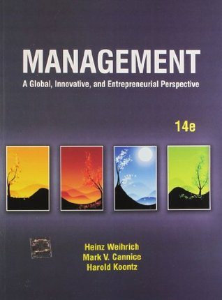 Management: A Global, Innovative and Entrepreneurial Perspective by