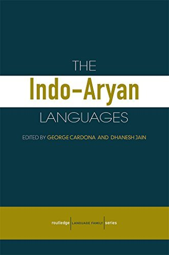 The Indo-Aryan Languages (Routledge)