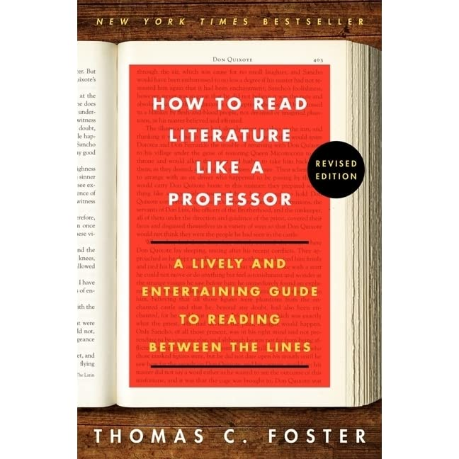 how to read literature like a professor chapter 26 This concludes how to read literature like a professor honestly, i was a little let down that foster gave up his hatred of the rich near the end of the book, along with his refusal to talk about his time in vietnam.