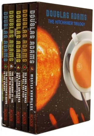 The Hitchhiker Trilogy (Hitchhiker's Guide to the Galaxy #1-5)
