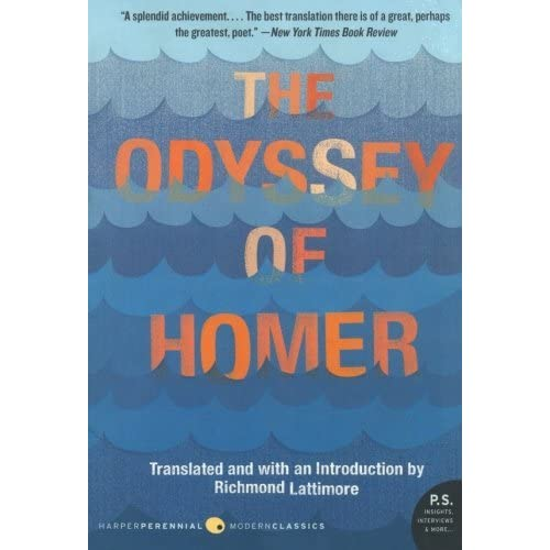 richard lattimore the odyssey