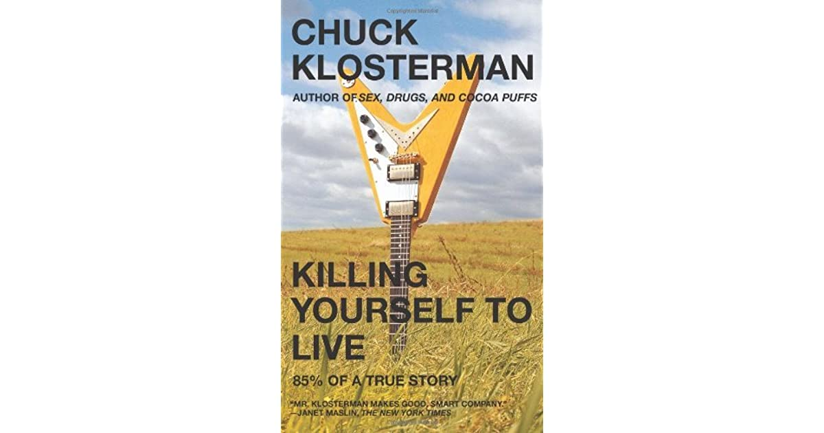 this is emo essay chuck klosterman Chuck klosterman is the author of six books, including the 2008 novel downtown owl and the forthcoming collection eating the dinosaur advertisement you may also like.