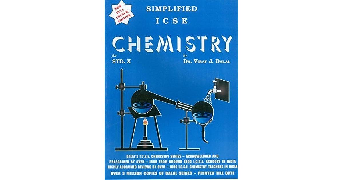 Simplified ICSE Chemistry Class - 10 by Viraf J  Dalal