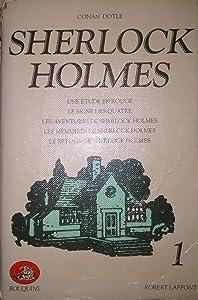 Sherlock Holmes (Tome 1): Une étude en rouge - Le signe des quatre - Les aventures de Sherlock Holmes - Les mémoires de Sherlock Holmes - Le retour de Sherlock Holmes