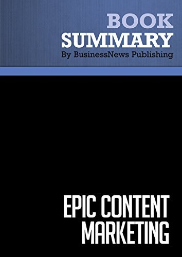 Epic Content Marketing - Joe Pulizzi