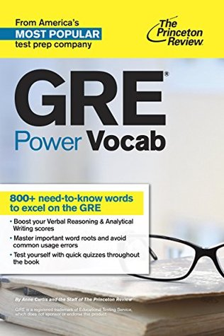 GRE Power Vocab by Princeton Review
