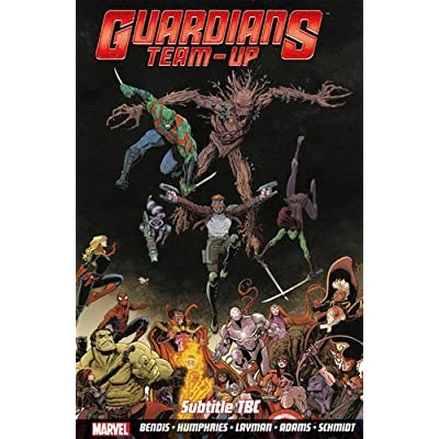 GUARDIANS TEAM-UP #1 STANDARD COVER